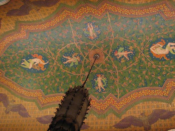 Роспись потолка — фото 273