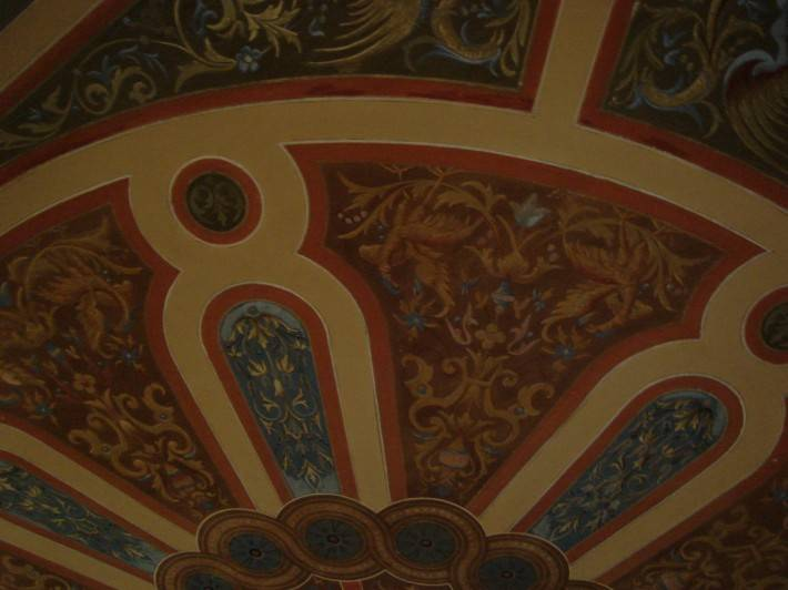 Роспись потолка — фото 32