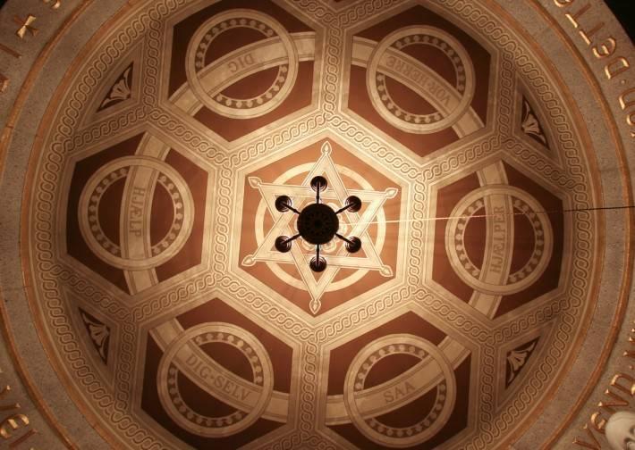 Роспись потолка — фото 201