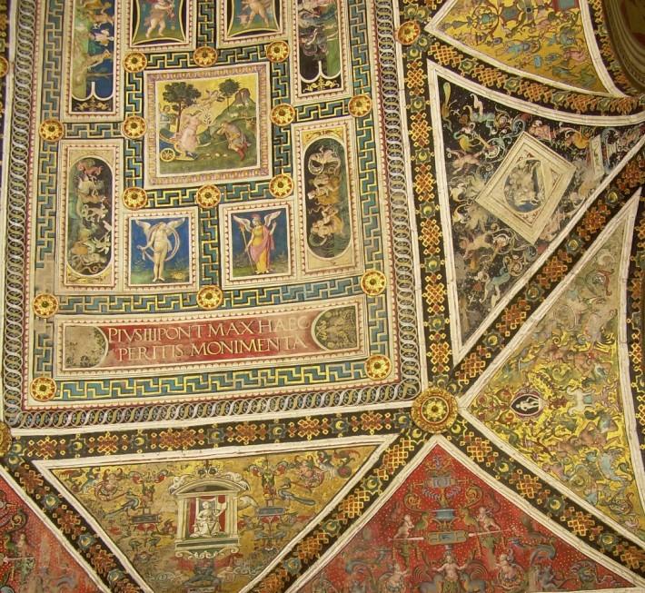 Потолок Сиенского собора — фото 4