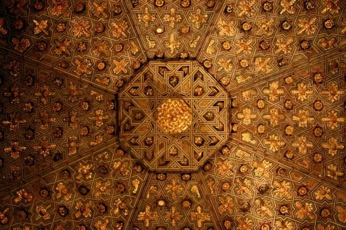 Потолок в Калифорнийском дворце ордена Почётного Легиона
