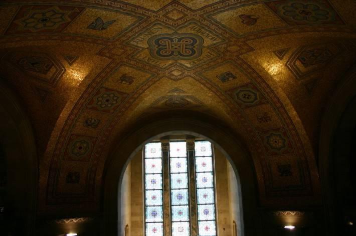 Потолок одного из залов Королевского музея Онтарио