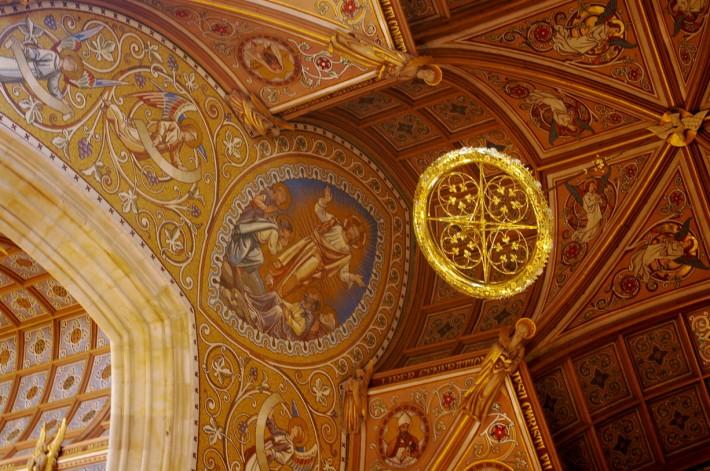 Роспись потолка — фото 71