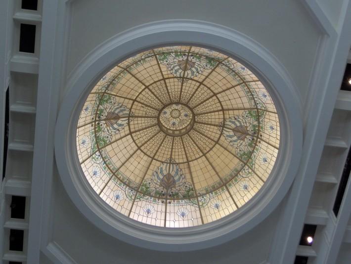 Витражный потолок — фото 29