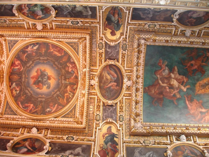 Роспись потолка — фото 336