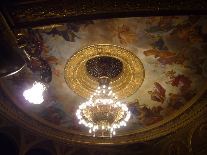 Роспись потолка — фото 169