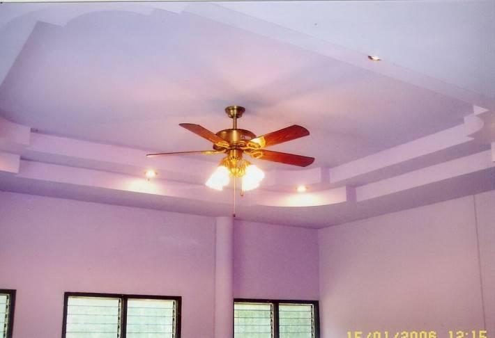 Потолок из гипсокартона — фото 49
