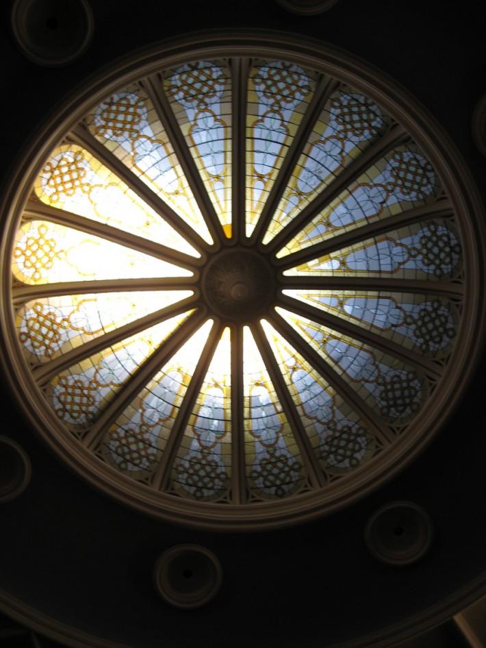 Витражный потолок — фото 28