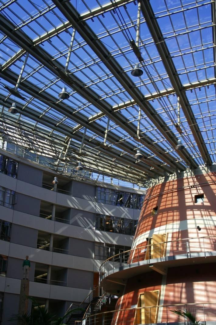 Стеклянная крыша — фото 50