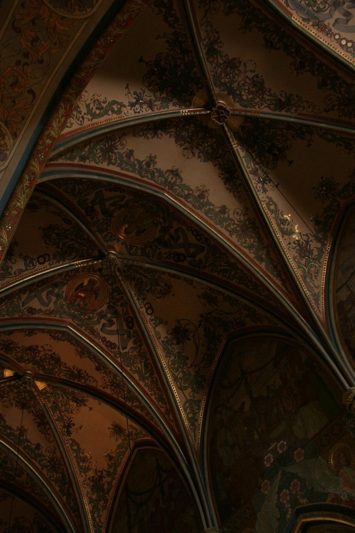 Роспись потолка — фото 8