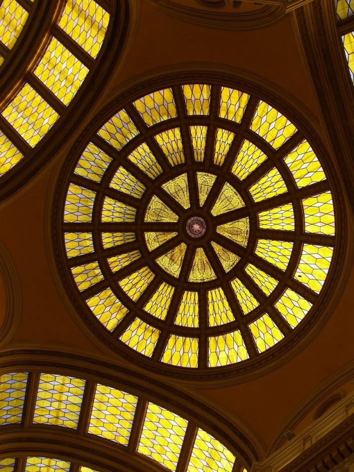 Витражный потолок — фото 4