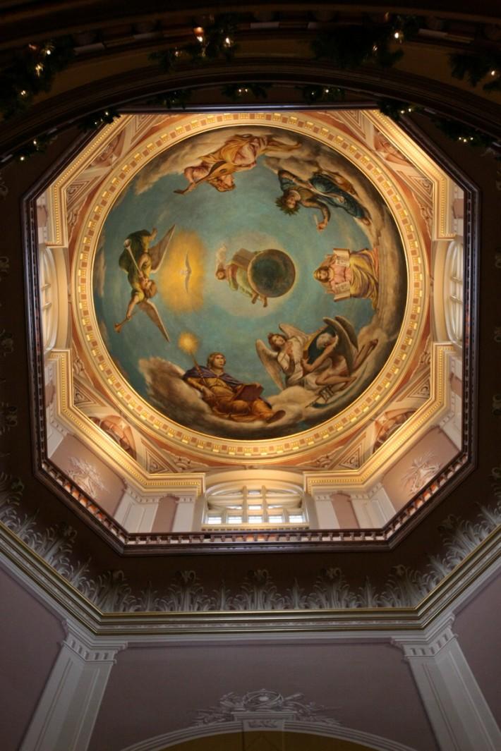 Роспись потолка — фото 327