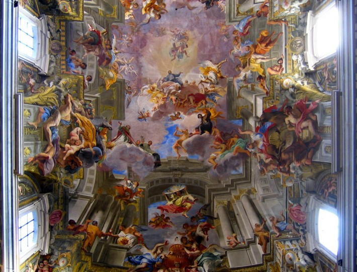 Роспись потолка — фото 243