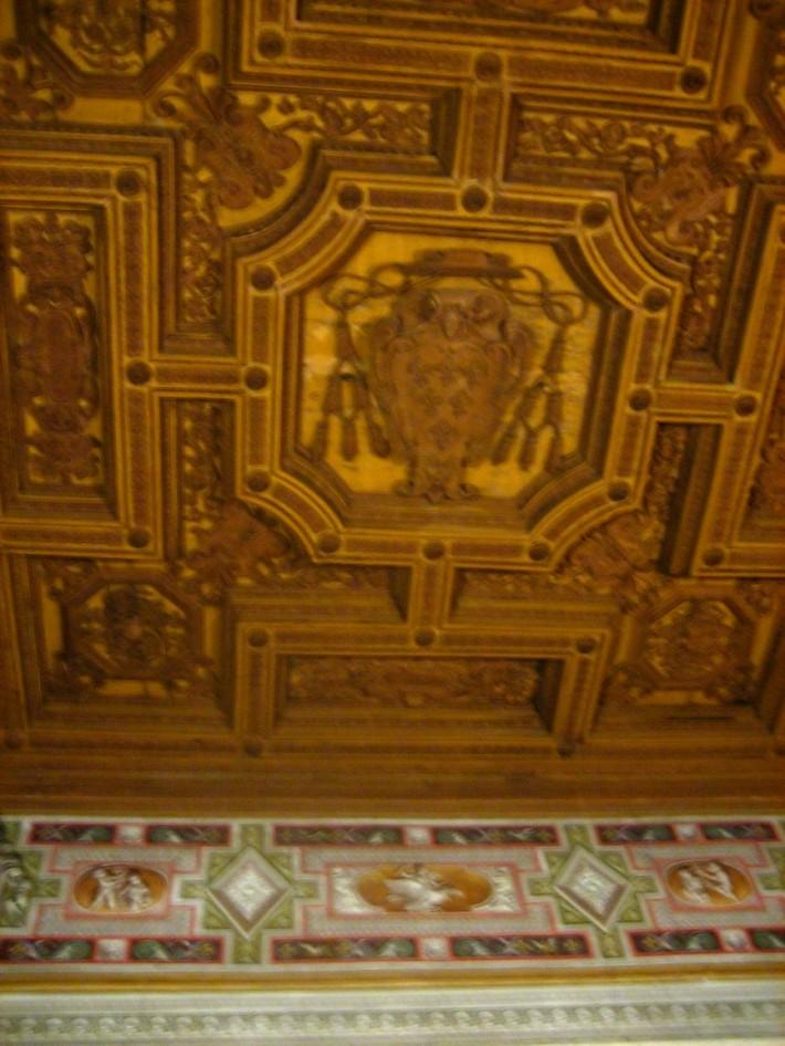 Роспись потолка — фото 328