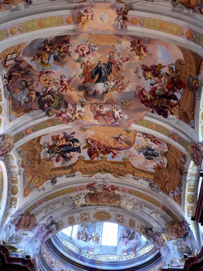 Роспись потолка — фото 33