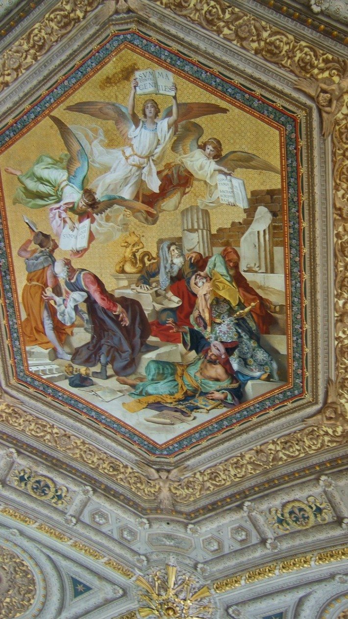 Роспись потолка — фото 364