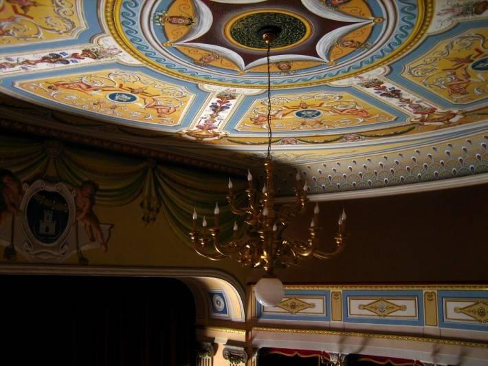 Роспись потолка — фото 361