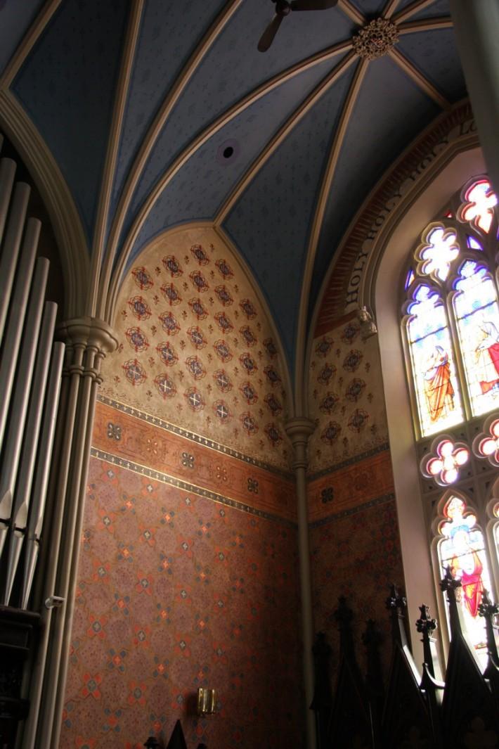 Роспись потолка — фото 245