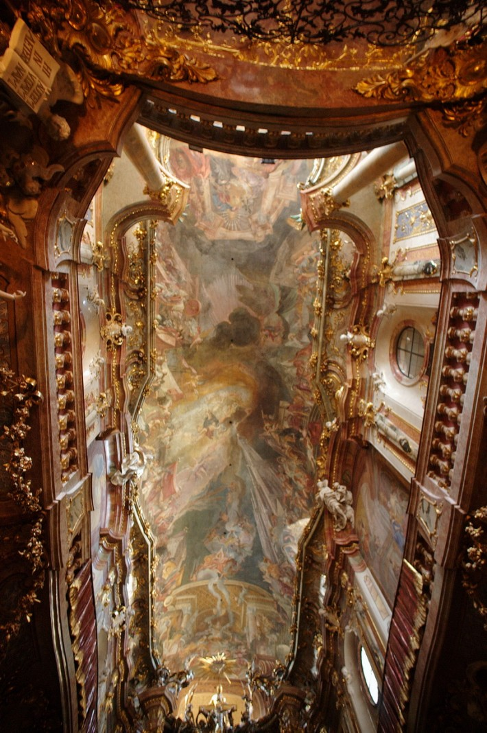 Роспись потолка — фото 315