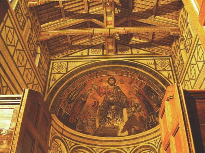 Роспись потолка — фото 93
