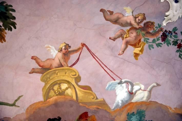 Роспись потолка — фото 9