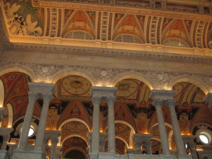 Роспись потолка — фото 339