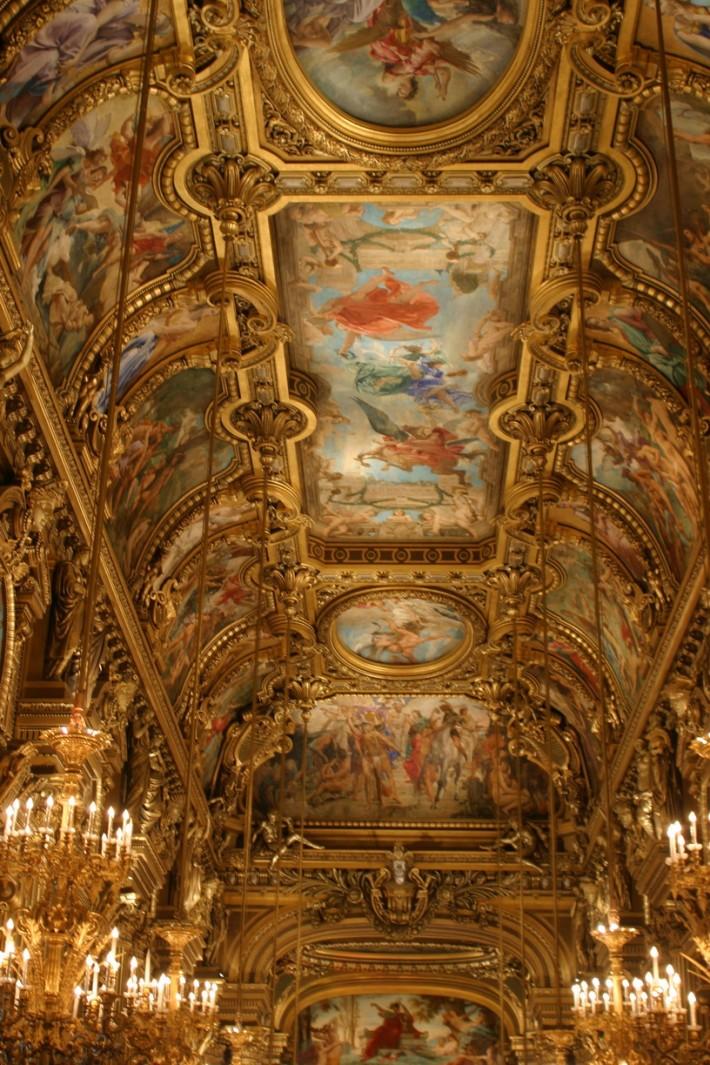 Роспись потолка — фото 56