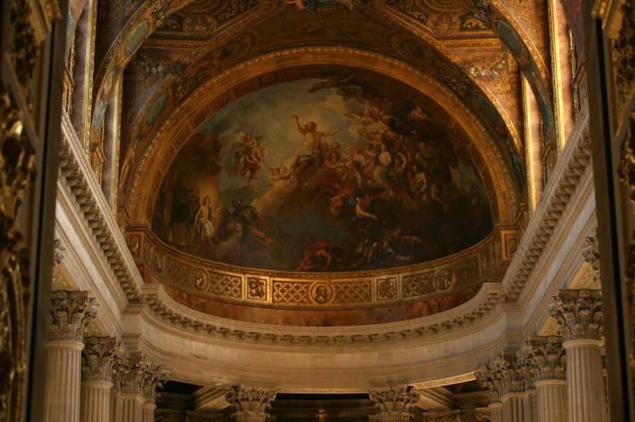 Роспись потолка — фото 256