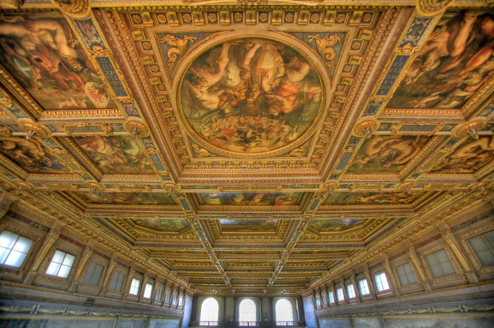 Роспись потолка — фото 95