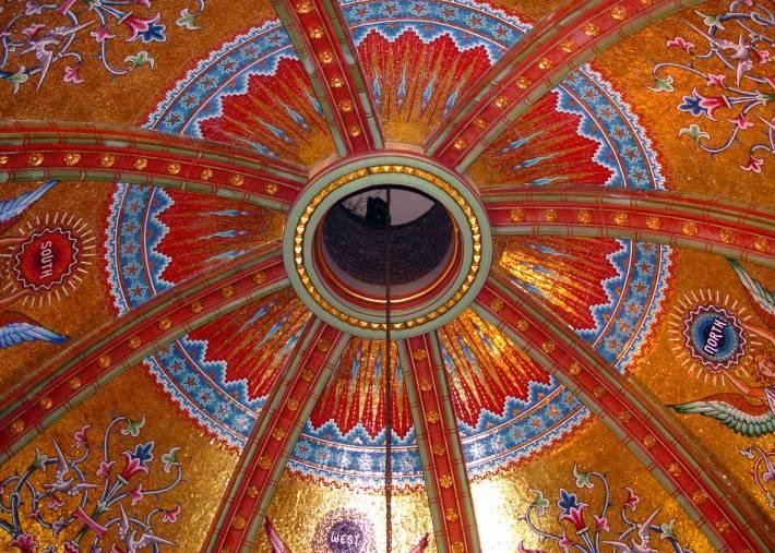 Потолок мемориала Джеймса Гарфилда в Кливленде