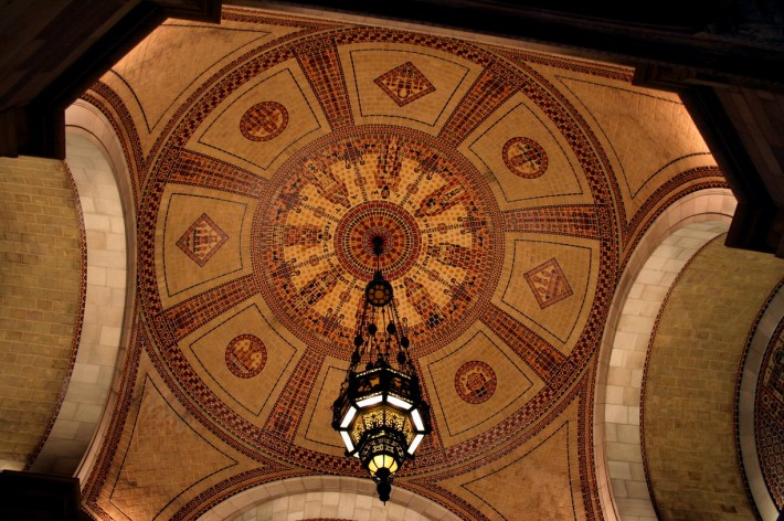Роспись потолка — фото 257