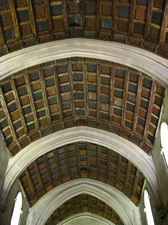 Потолок в Кордовской соборной мечети (Мескита)