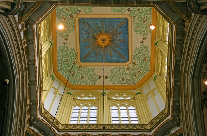 Роспись потолка — фото 258