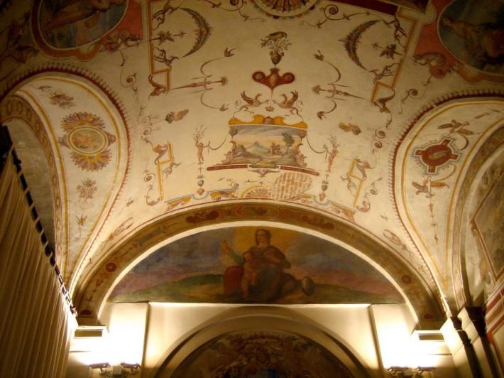 Роспись потолка — фото 96