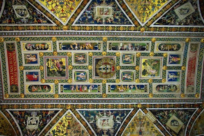Потолок Сиенского собора — фото 2