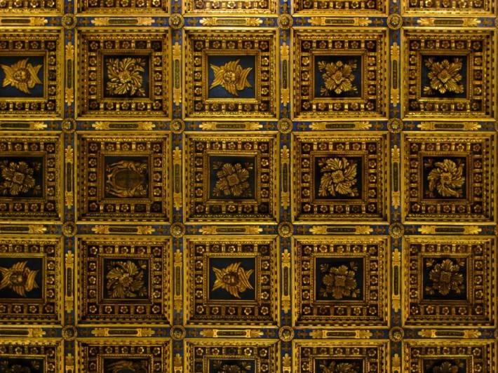 Фрагмент потолка Пизанского собора, Пьяцца деи Мираколи