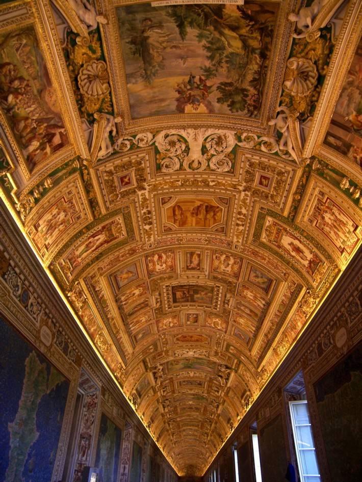 Галерея географических карт в Ватикане (фото 13)