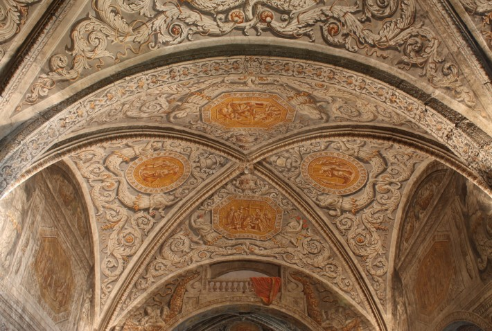 Роспись потолка — фото 176