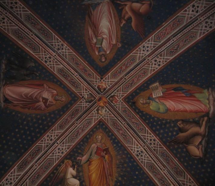 Роспись потолка — фото 231