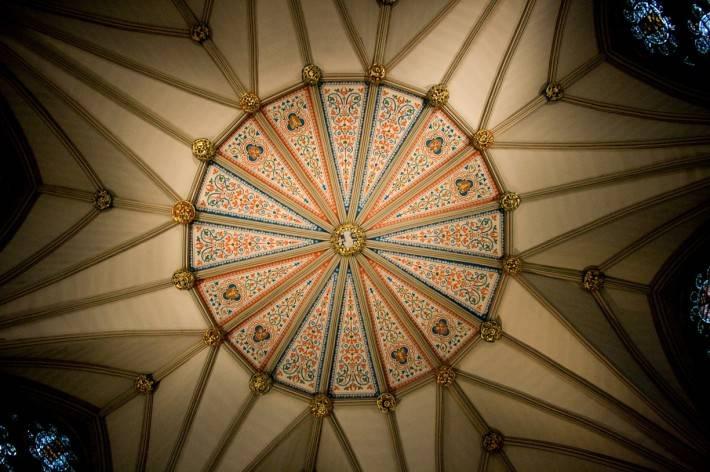 Роспись потолка — фото 349