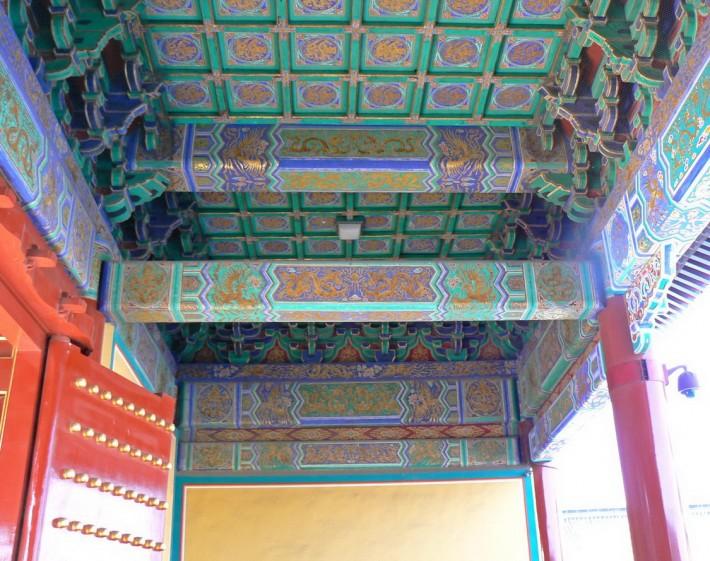 Роспись потолка — фото 314