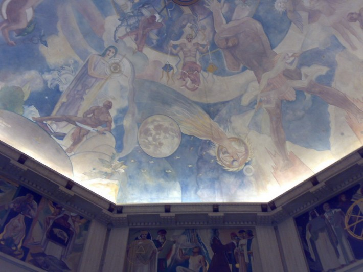Роспись потолка — фото 107