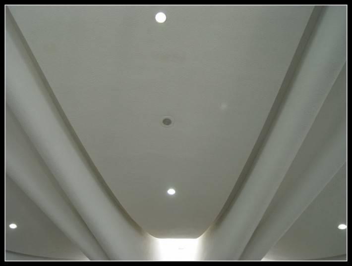 Потолок из гипсокартона — фото 2
