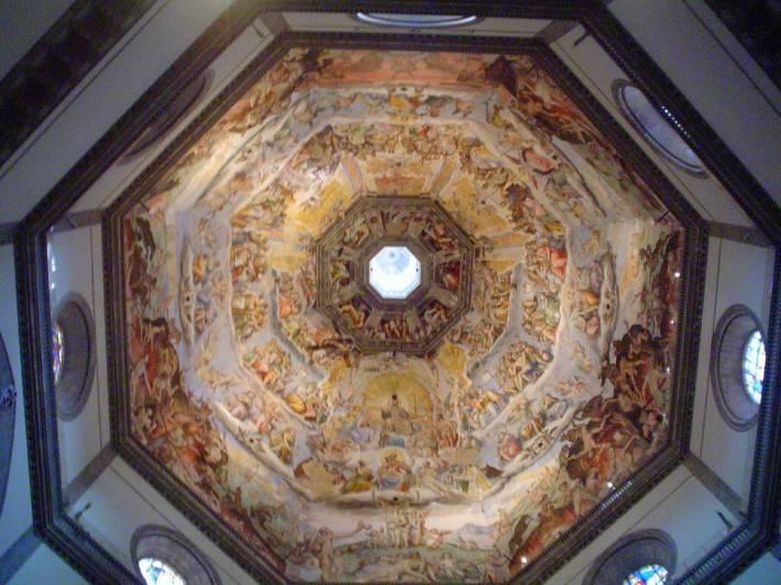 Фреска в куполе собора Санта-Мария-дель-Фьоре, Флоренция