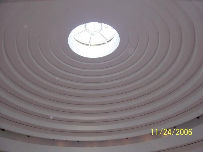 Металлический потолок — фото 37