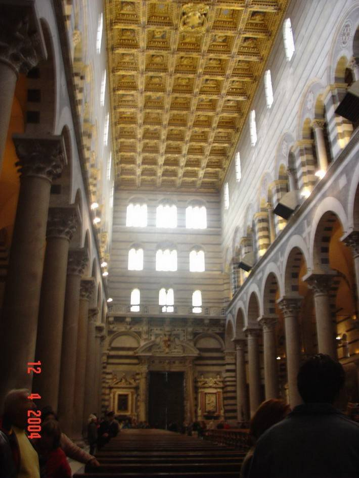 Потолок Пизанского собора, Пьяцца деи Мираколи (фото 2)