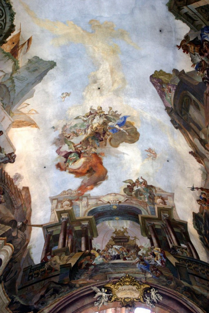 Роспись потолка — фото 12