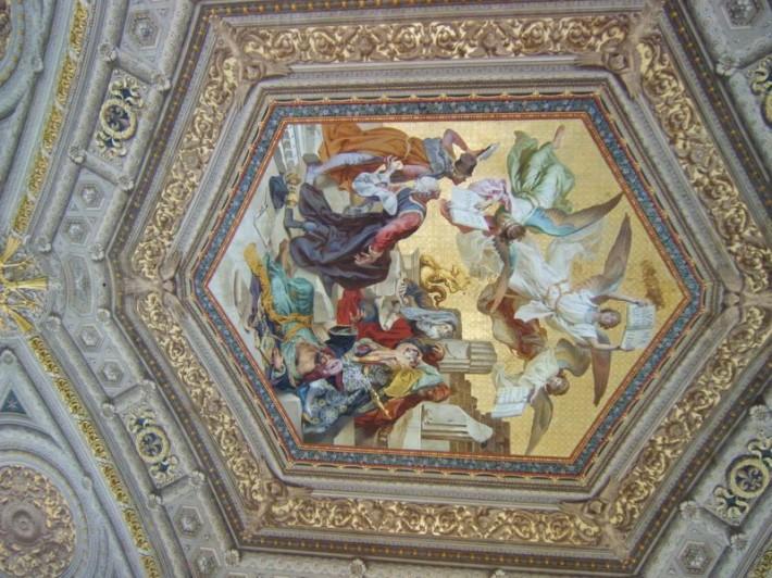 Роспись потолка — фото 111