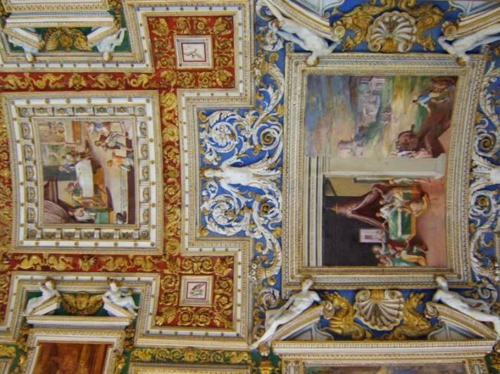 Галерея географических карт в Ватикане (фото 6)