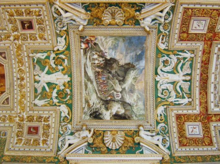 Галерея географических карт в Ватикане (фото 11)